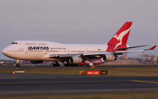 mystery Flights Qantas